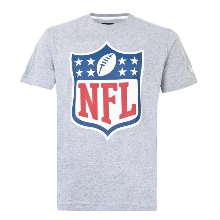 Camiseta Nfl Logo Cinza - New Era - R  96 70ba36c68e8