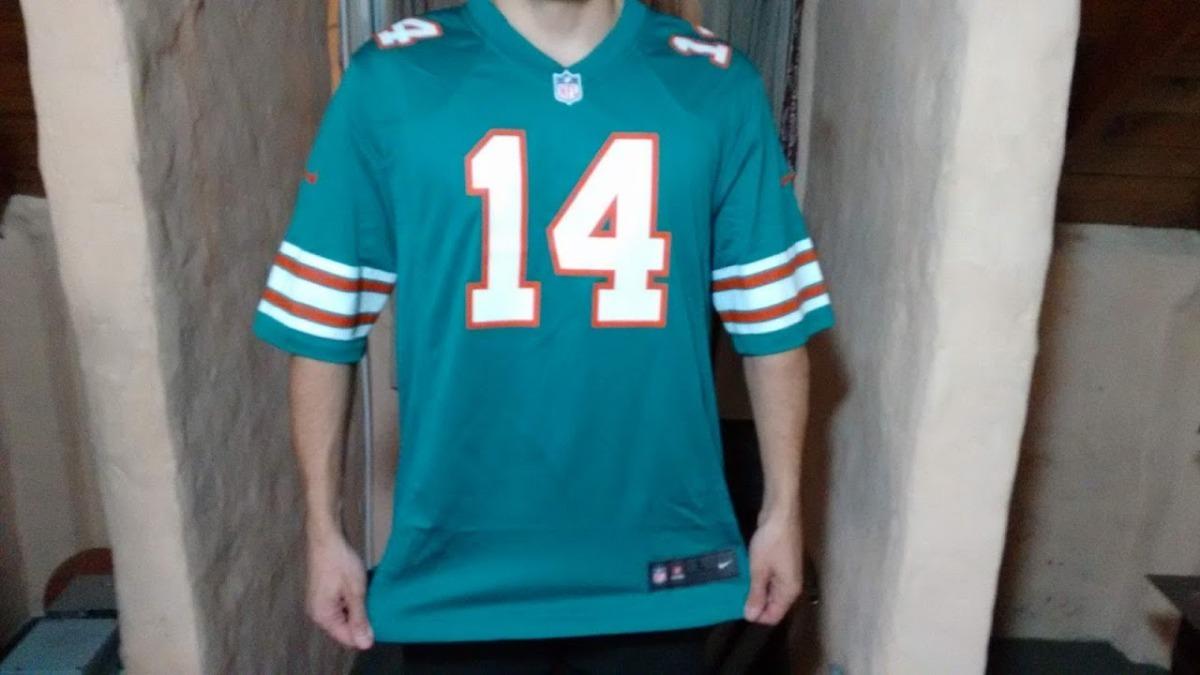 4508f8a73 camiseta nfl  miami dolphins  (original). Cargando zoom.