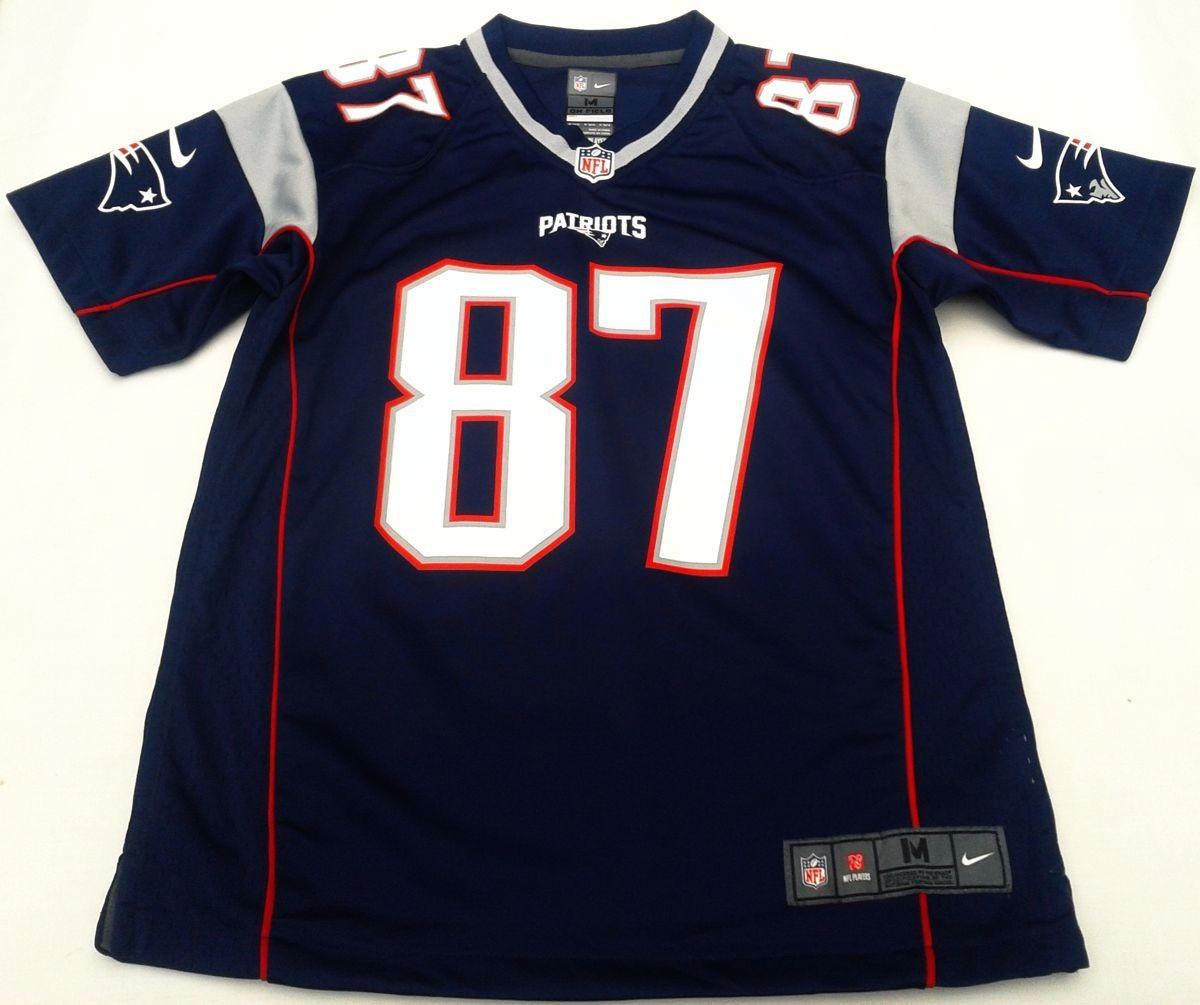 Camiseta Nfl New England Patriots Gronkowski M10 Años Niños ... 38381b9ce0b