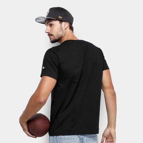 Camiseta Nfl Pittsburgh Steelers New Era Sports Team Masc - R  79 180f4bb4161