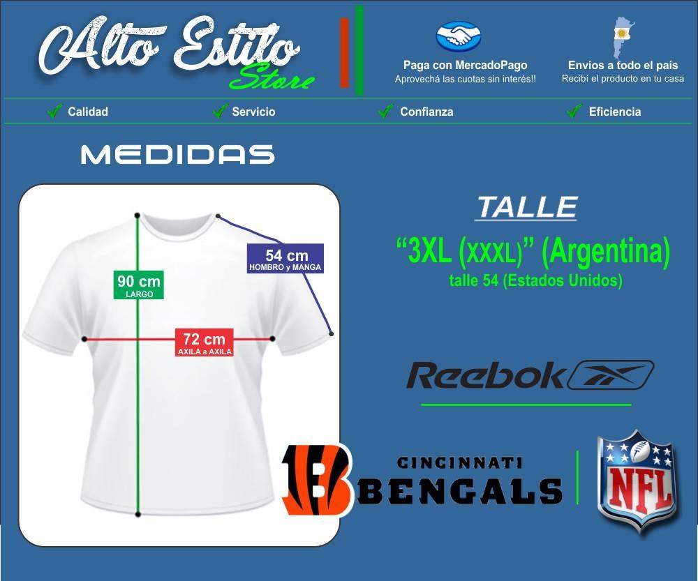 ef72975024803 camiseta nfl reebok cincinnati bengals  9 xxxl 3xl original. Cargando zoom.