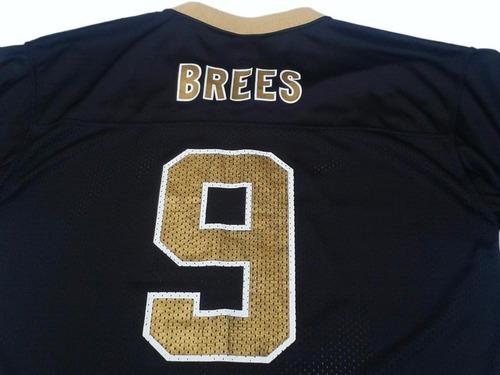 camiseta nfl reebok new orleans saint drew brees imp talle s