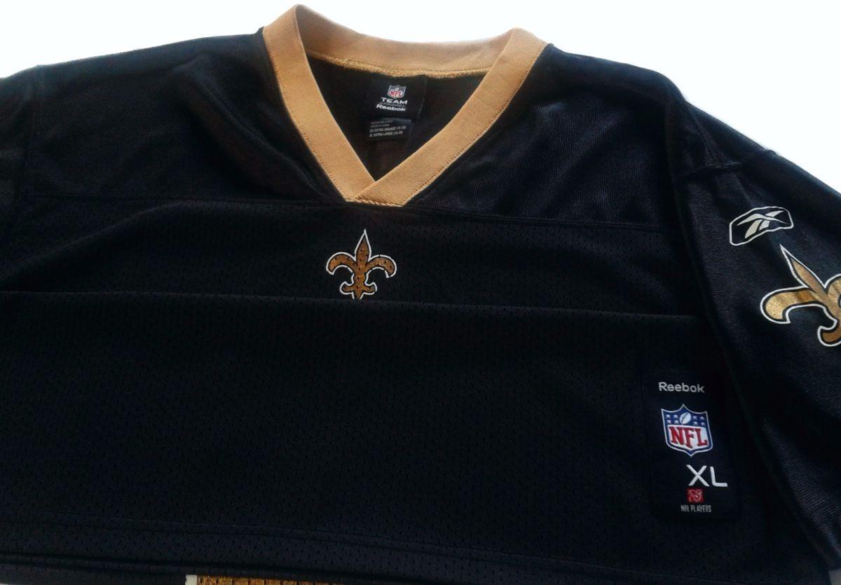 f0b2d66aac2b6 Camiseta Nfl Reebok New Orleans Saint Drew Brees Imp Talle S -   799 ...