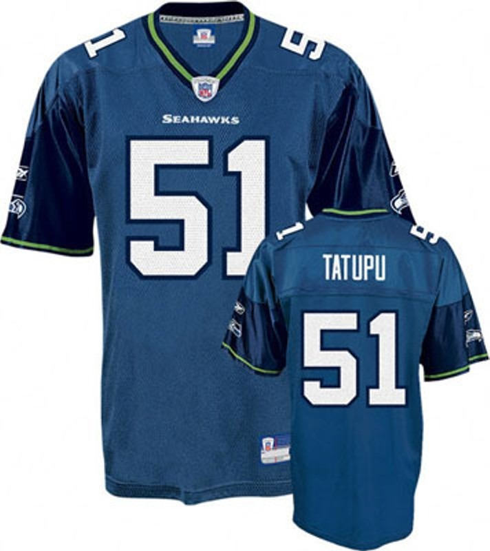 camiseta nfl reebok seahawks tatupu talle s futbol americano. Cargando zoom. f4742d22fb4