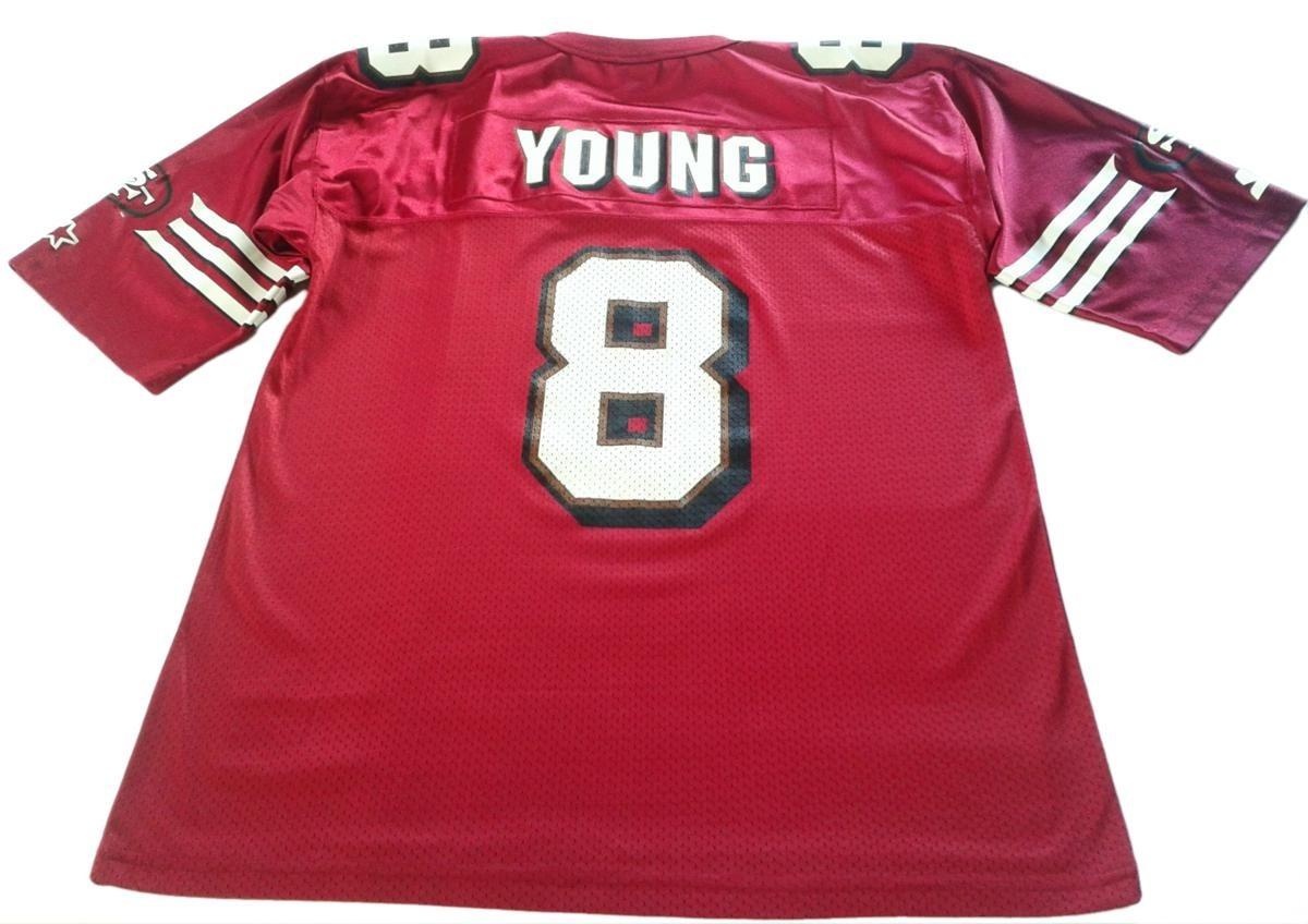 camiseta nfl steve young san francisco 49ers starter tall xl. Cargando zoom. 8d0ffcec272