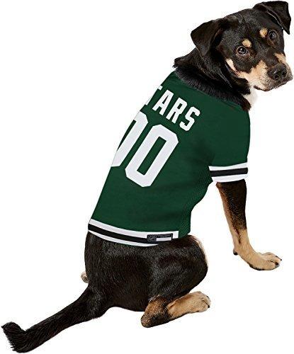 Dallas Stars Pet Dog Hockey Jersey Large