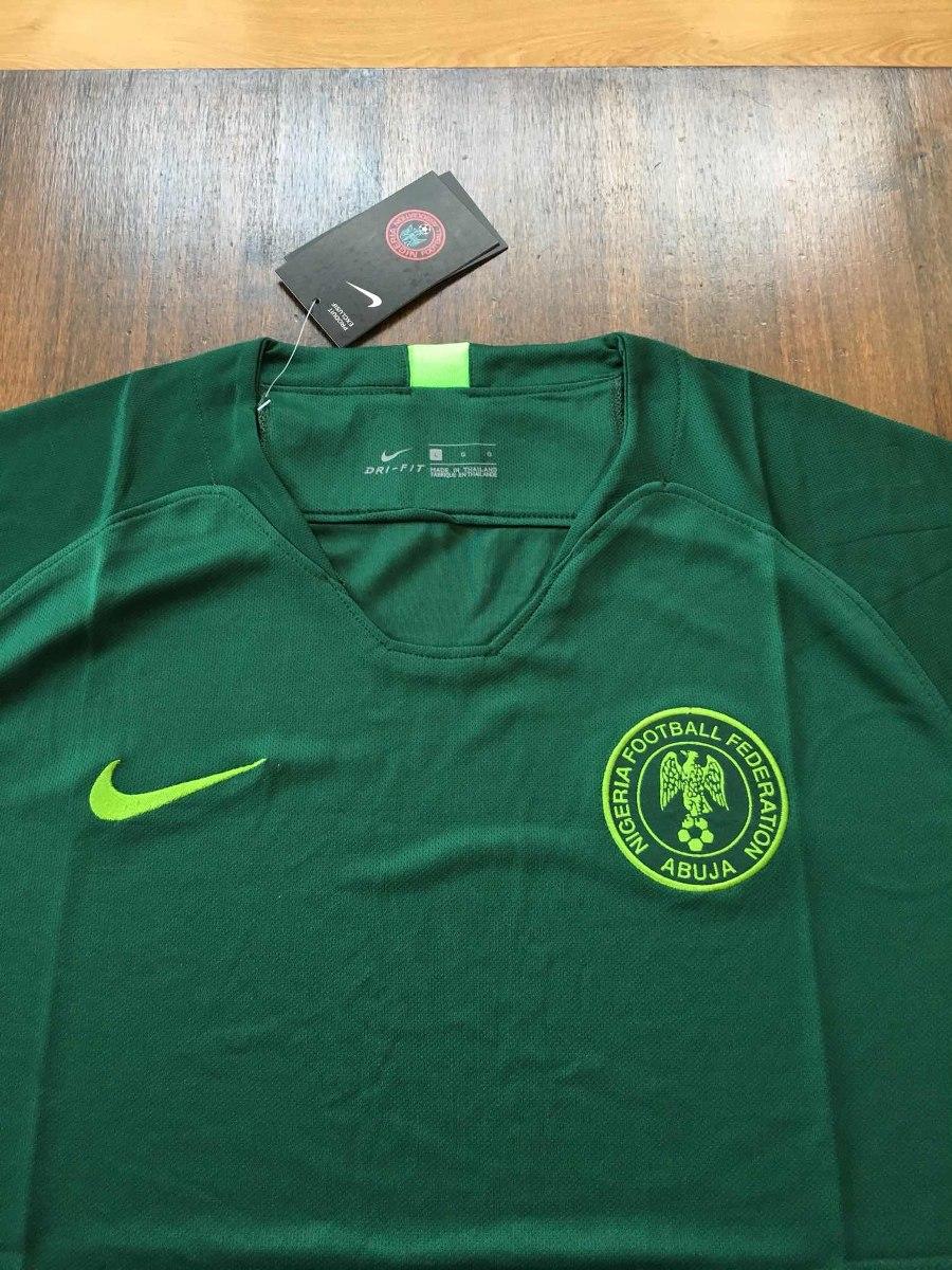 camiseta nigeria nike stadium mundial 2018 titular original. Cargando zoom. a8352a1c11c65