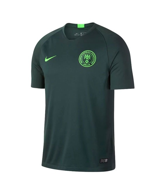 1f922336fd Camiseta Nigeria Nike Stadium Mundial 2018 Titular Original ...