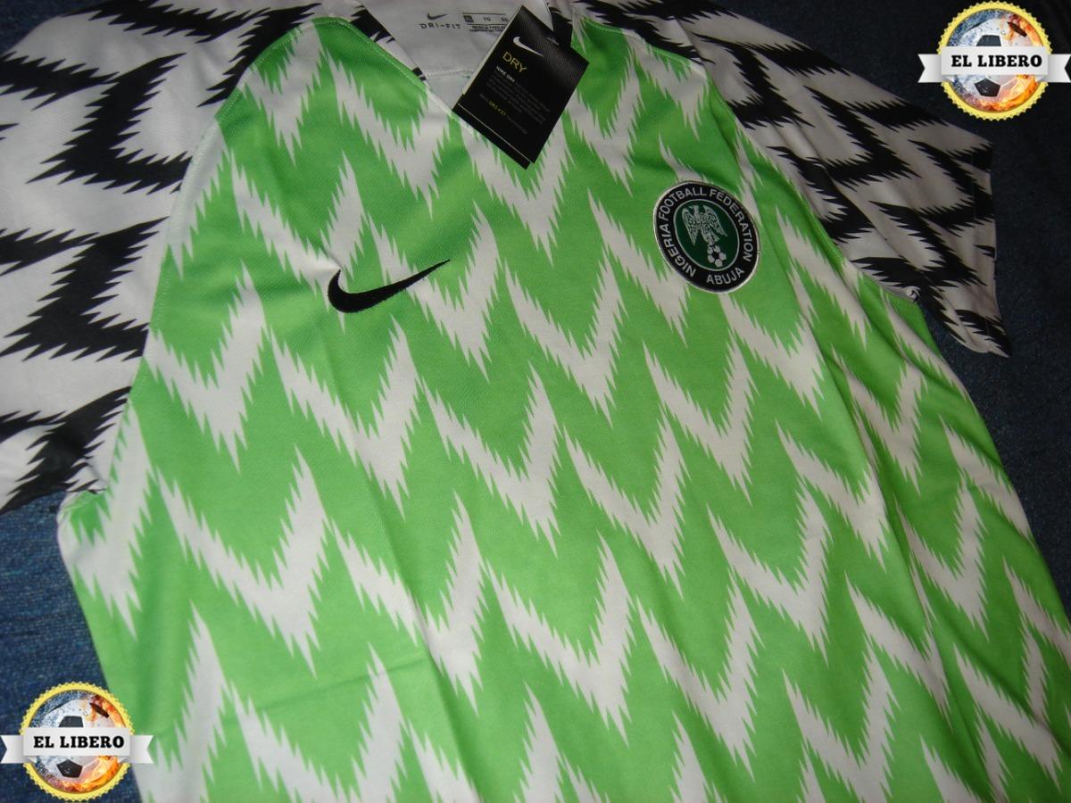 f45bd3682 camiseta nigeria titular rusia 2018 envio gratis. Cargando zoom.