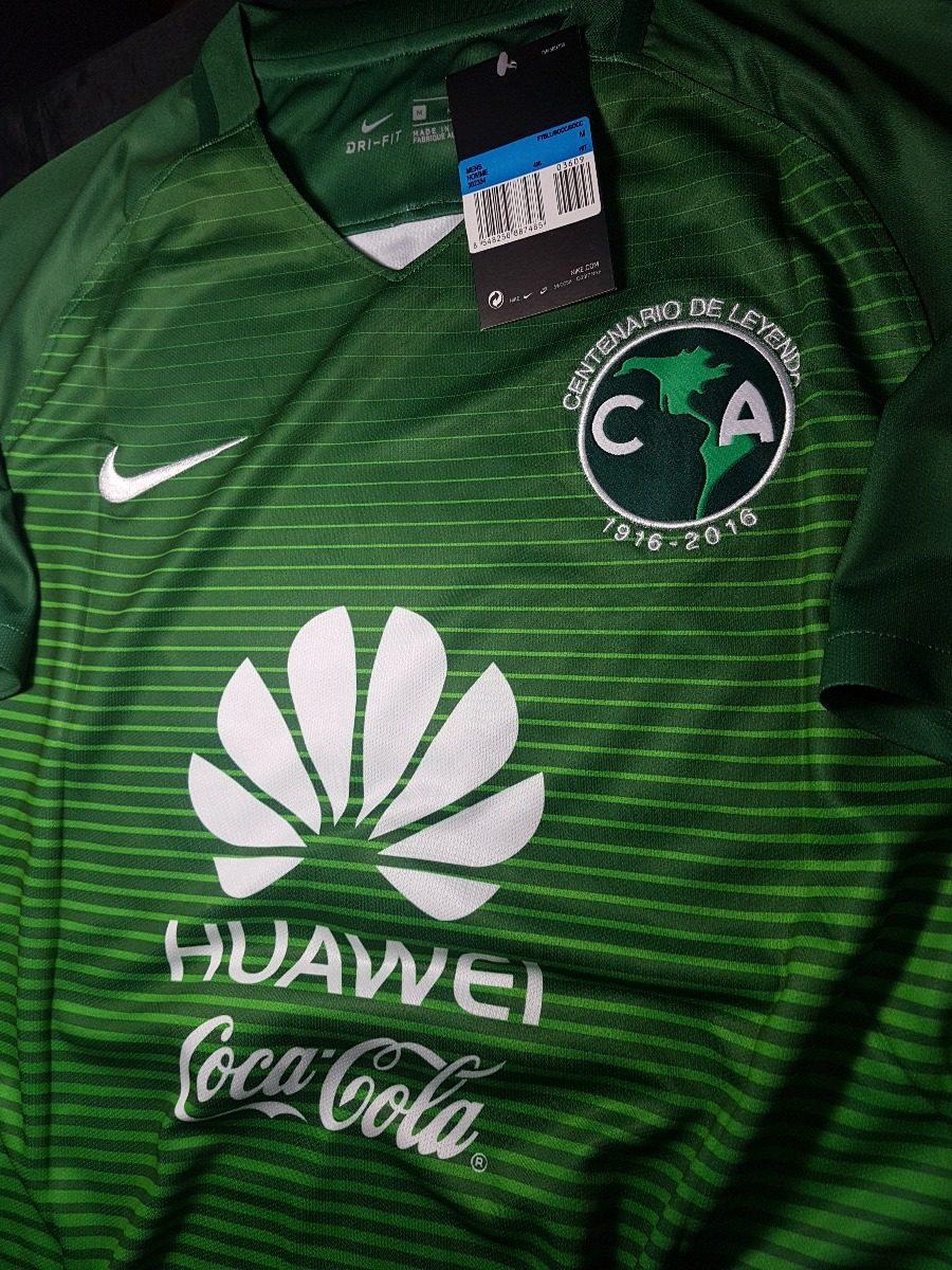 Camiseta Nike America De Mexico Verde negra 2016 2017 Goltz -   849 ... 913d604271bc9