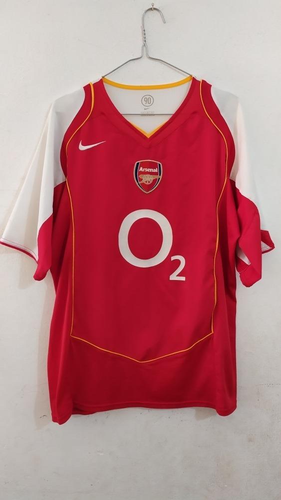 Buenos precios auténtico auténtico la venta de zapatos Camiseta Nike Arsenal Fc Temporada 2004/2005 Talle L. - $ 500,00 ...