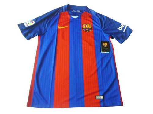 camiseta nike barcelona 2016 - 2017 original talla m
