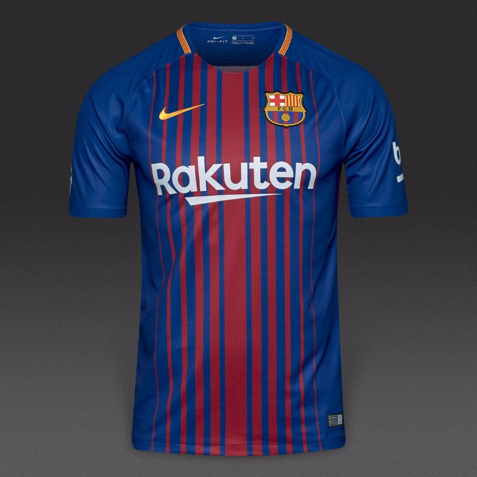 camiseta nike barcelona breathe stadium 2017-2018 original. Cargando zoom. dd3578b39f1