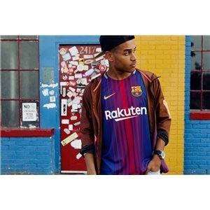 Camiseta Nike Barcelona Breathe Stadium 2017-2018 Original - S  419 ... 9afd40430c8
