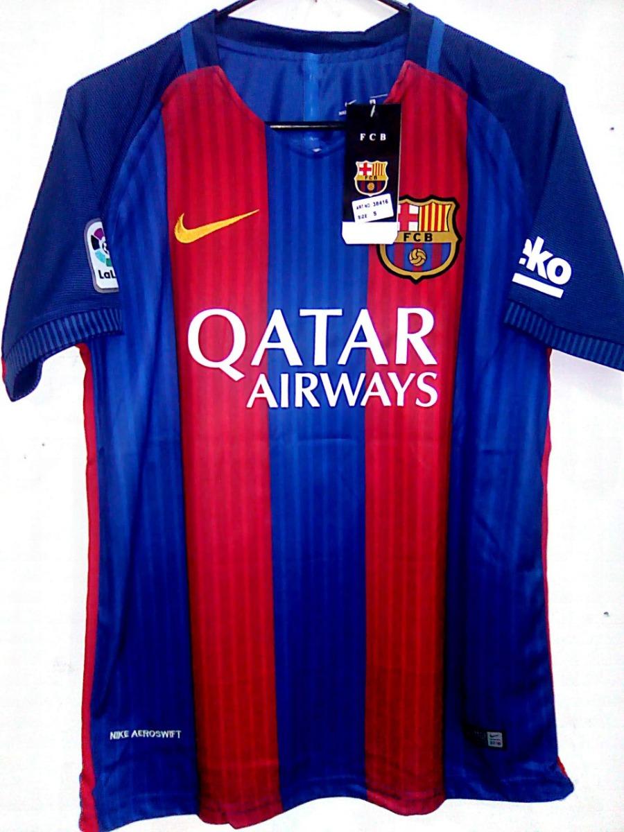 82391b3e25 Camiseta Nike Barcelona F.c 16/17 Niños T:6-16 - $ 49.000 en Mercado ...