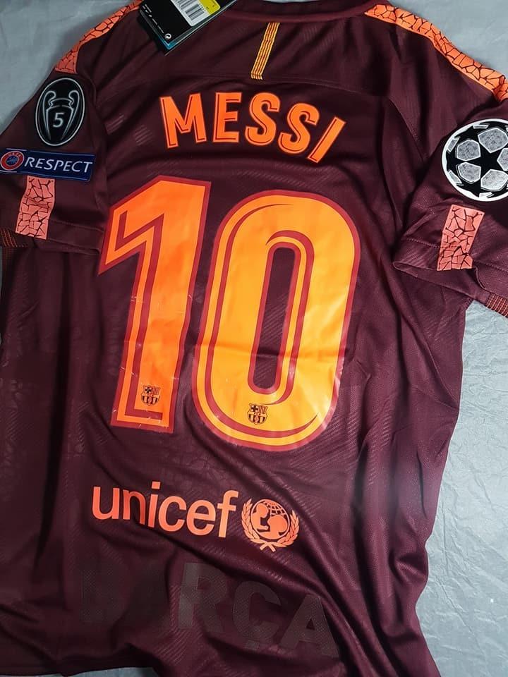 d94b36b72fbd4 Camiseta Nike Barcelona Suplente Bordo Messi Coutinho Champi -   900 ...