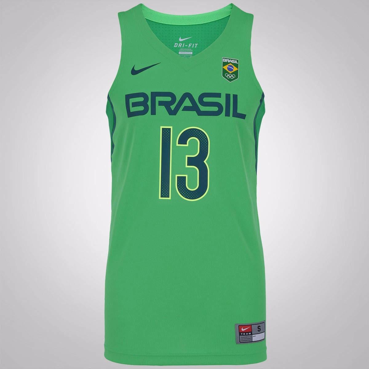 ed2b2932e camiseta nike basquete brasil olimpíadas - pronta entrega! Carregando zoom.