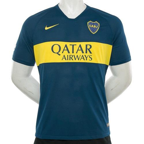 72bc131c22b34 Camiseta Nike Boca Juniors 2019 Titular Match Originales! -   3.329 ...