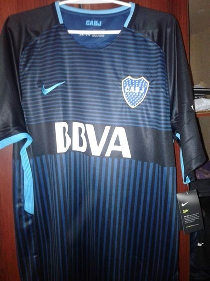 4aaae11a54 Camiseta Nike Boca Juniors Alternativa 3 Stadium 2017 18 -   900