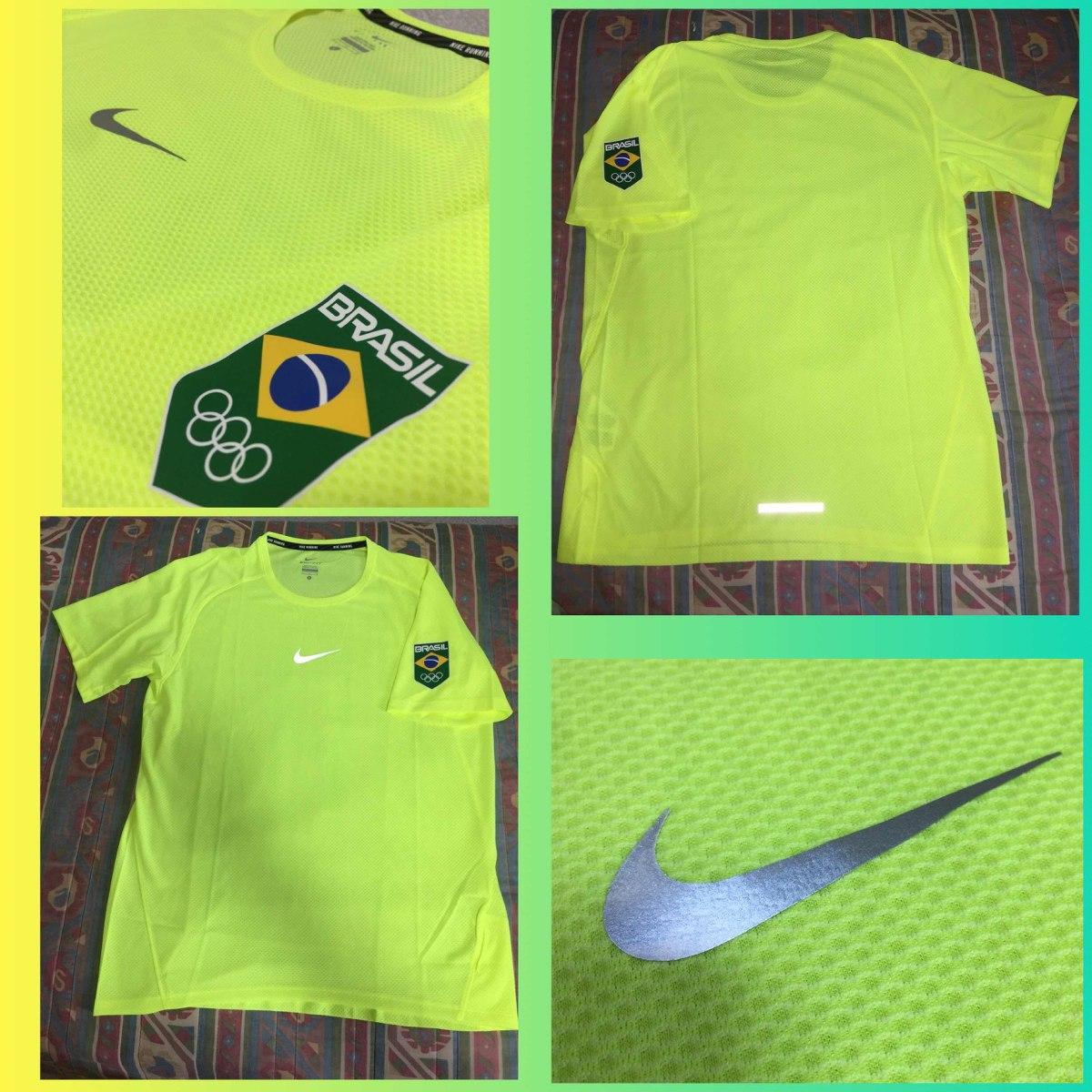 bf84415a91270 camiseta nike brasil olimpíadas amarela rio2016. Carregando zoom.