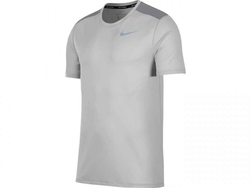 1f6572425a367 camiseta nike breathe run top masculino (cinza gg). Carregando zoom.