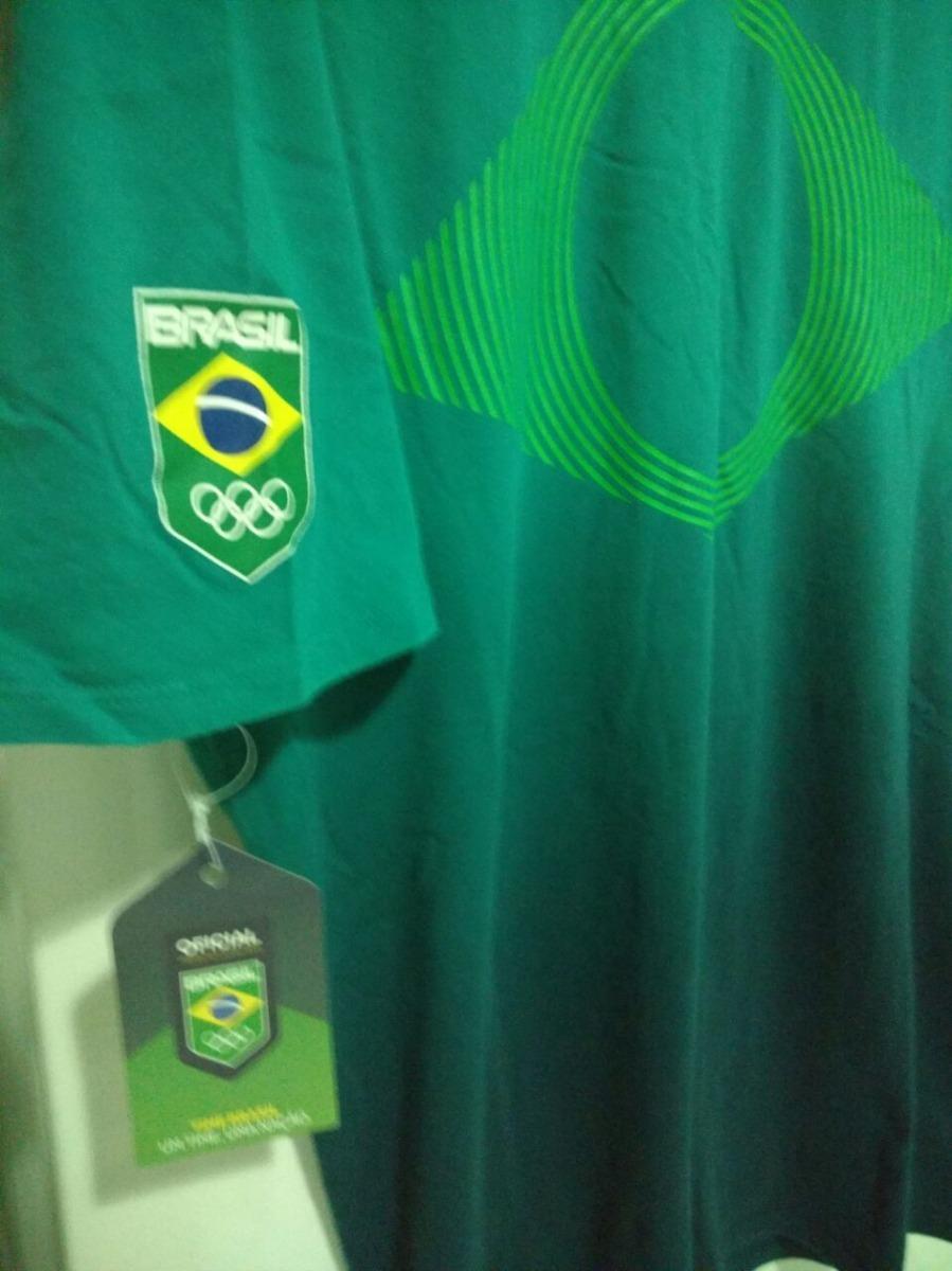 camiseta nike cob time brasil olimpiadas rio 2016 seleção. Carregando zoom. 83f3c918b2647