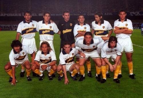 camiseta nike de boca juniors temporada 1996/1997 - oferta!!
