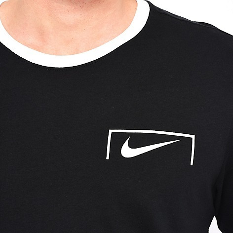 Camiseta Nike De Hombres Color Negro Sueter Men Deportivo Fb ... f58df34f429