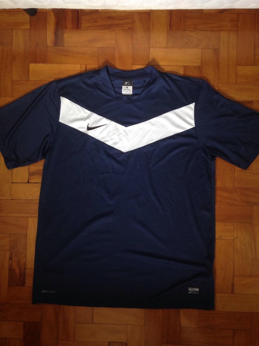 3153aeacc90b7 camiseta nike dri-fit azul marinho xl. Carregando zoom.