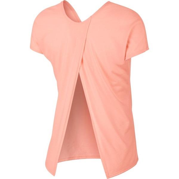Camiseta Nike Dri Fit Feminina Miler Top Ss Rosa Original - R  136 ... 702cf631046be