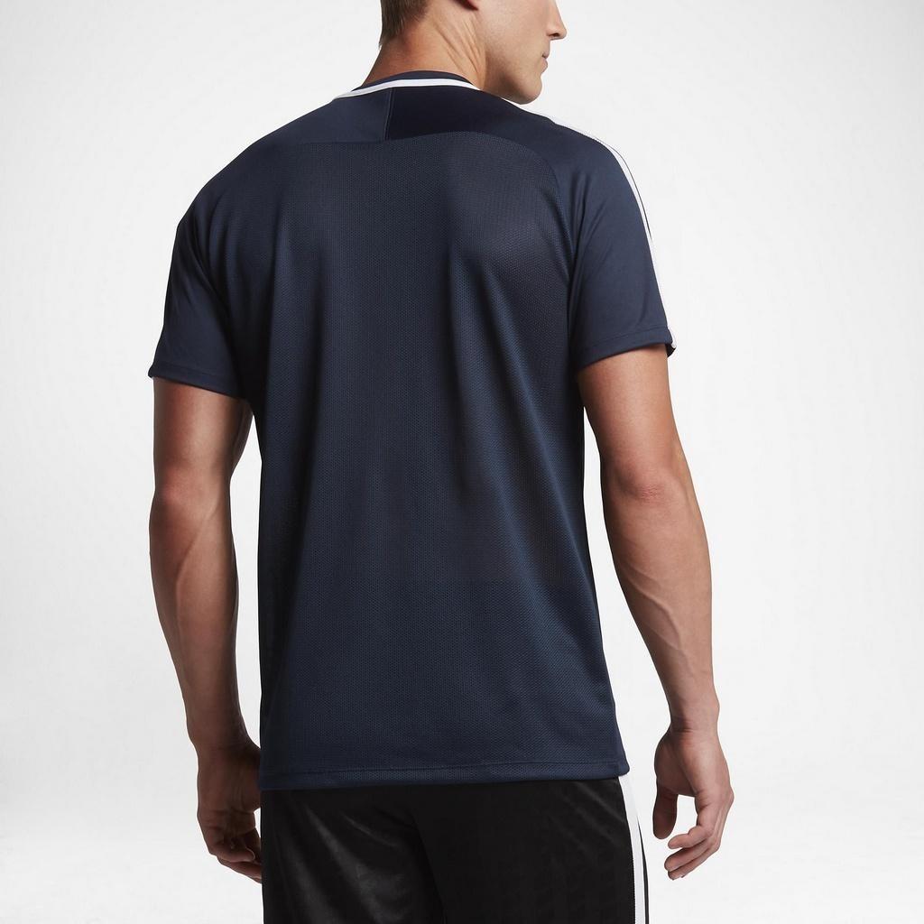 camiseta nike dry acdmy top ss azul marinho. Carregando zoom. 145e76fa4b4