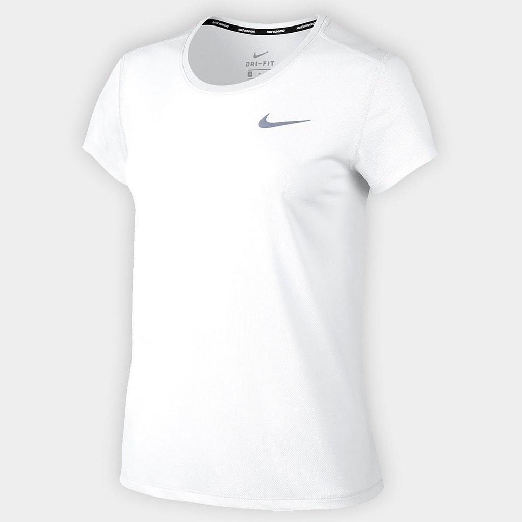camiseta nike dry breathe rapid top ss branco. Carregando zoom. 868318cfec52d