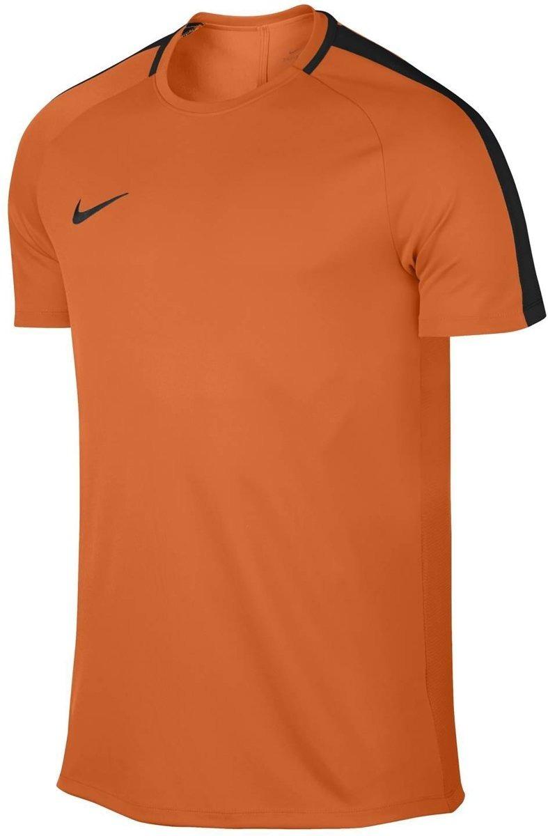 51c8679bdf Camiseta Nike Dry-fit Academy Masculina - Laranja E Preto - R  79