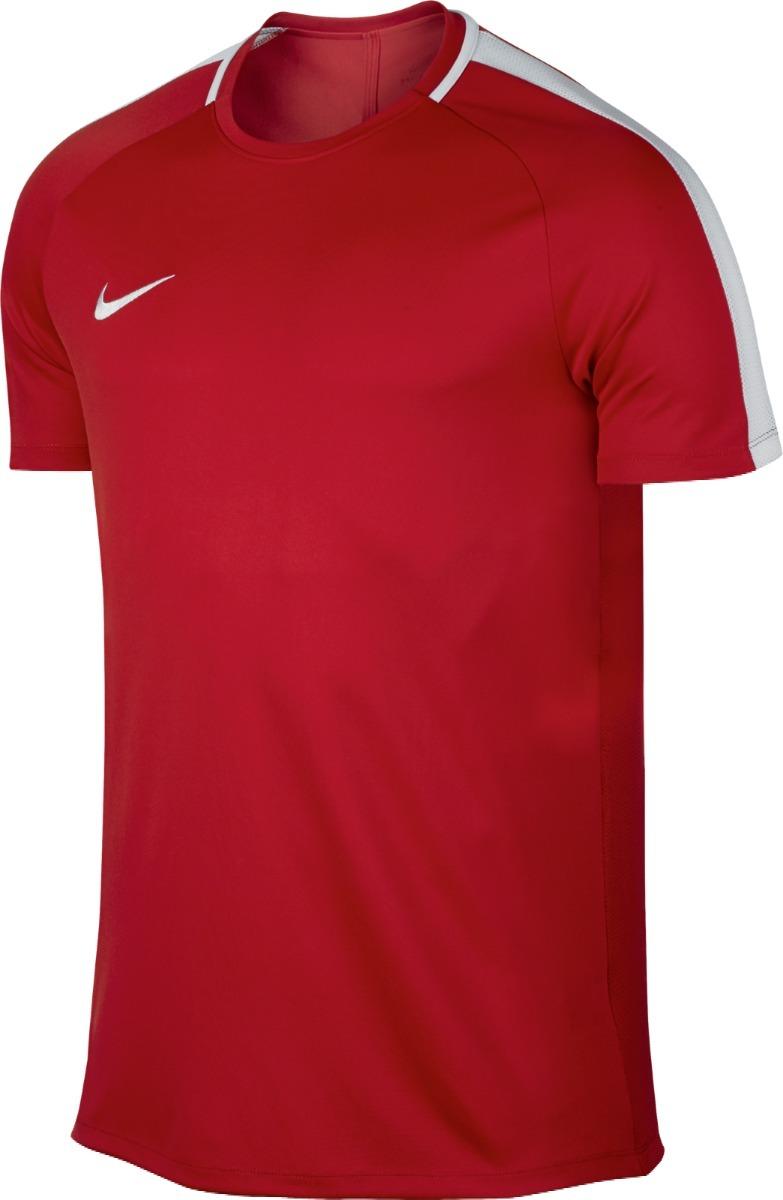 ... camiseta nike dry-fit academy masculina - vermelho e branco. Carregando  zoom. 6b28cbfa16290