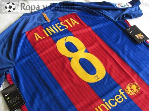 camiseta nike fc barcelona 2016/17 messi 10 - 100% original!