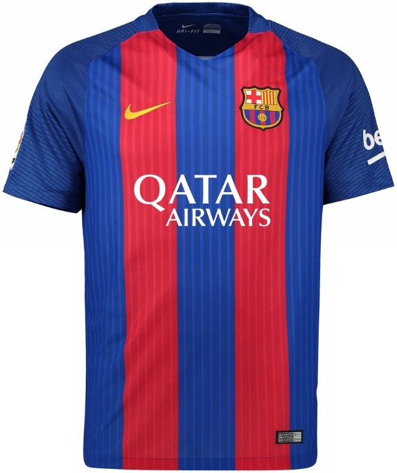 ba8147ac39f7d Camiseta Nike Fc Barcelona 2016 17 Messi 10 - 100% Original! - S ...