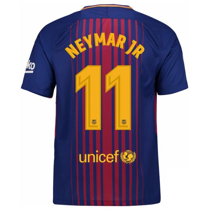 3530d0cd15de3 Camiseta Nike Fc Barcelona 2017 18 - Messi 10 - Stadium - S  249