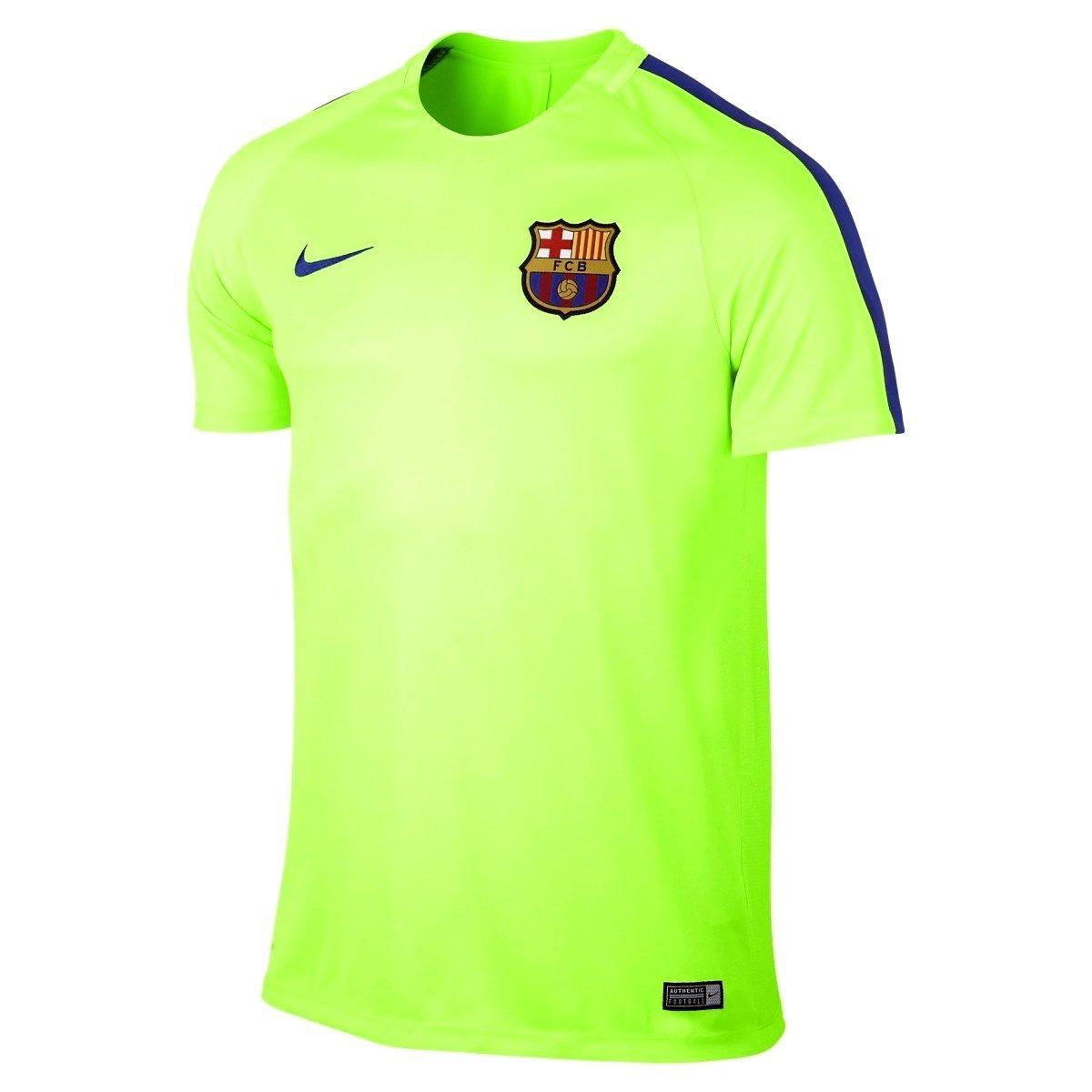 Camiseta Nike Fc Barcelona Dry Top Squad 16 17 808924-369 - R  149 ... 9b48d41cfd9e6