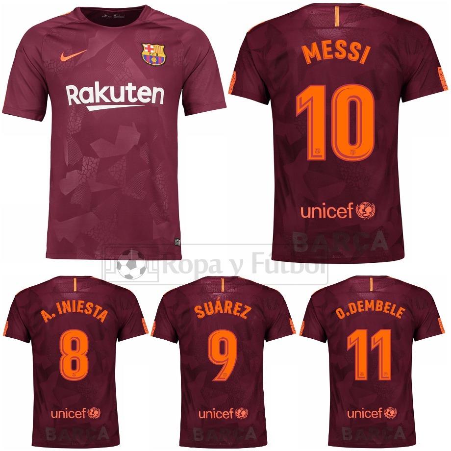 camiseta nike fc barcelona stadium 2017 18 - messi 10 !!! Cargando zoom. 9f1e29eef7f0a