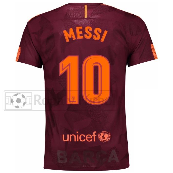 Camiseta Nike Fc Barcelona Stadium 2017 18 - Messi 10 !!! - S  349 ... 56f13105d09be