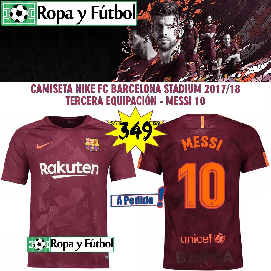 83f70a2be8 NIKE ·  recognized brands 936a7 3dd74 camiseta nike fc barcelona stadium  201718 - messi 10 !! ...