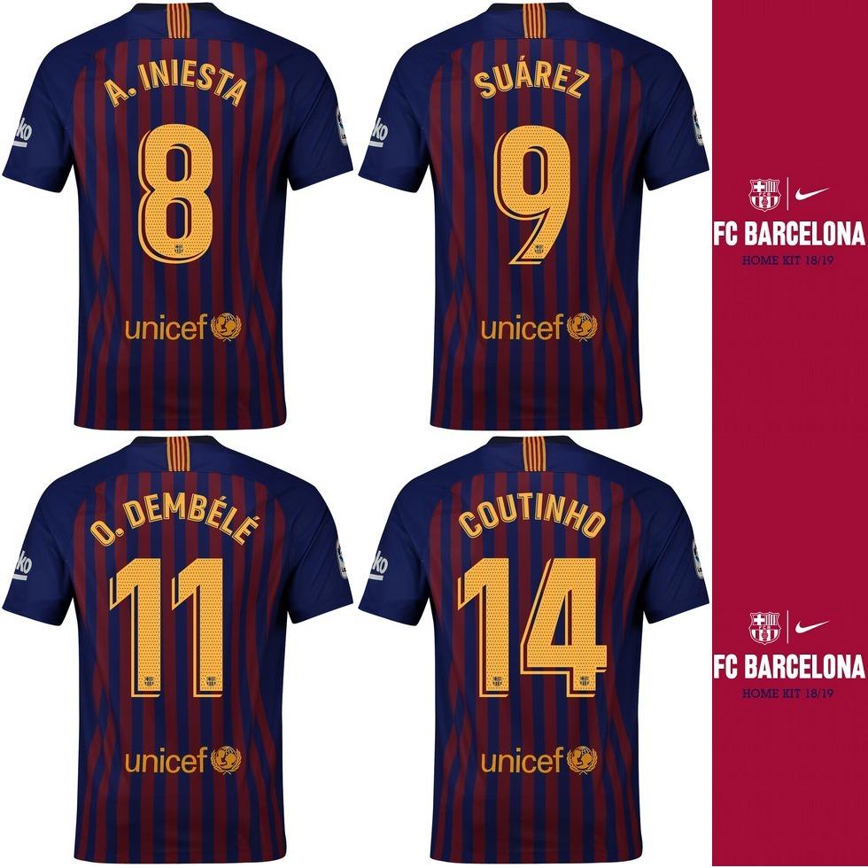 f421a09b5722c Camiseta Nike Fc Barcelona Stadium 2018 19 - 100% Original ! - S  349
