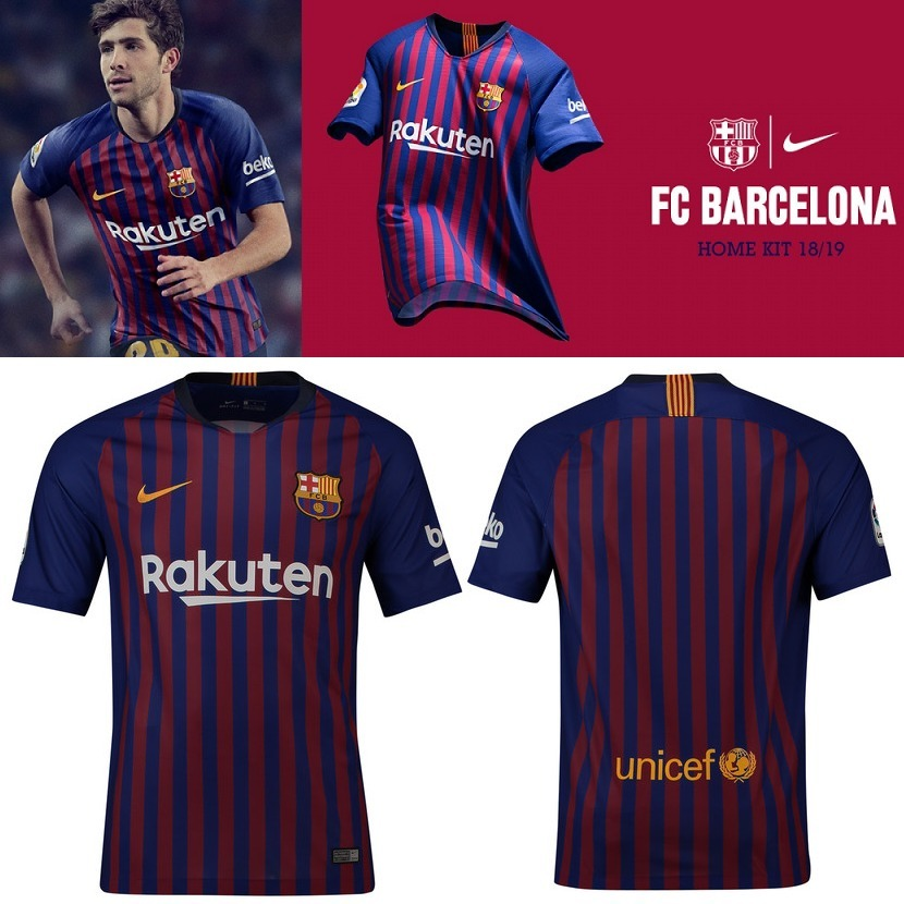 Camiseta Nike Fc Barcelona Stadium 2018 19 - 100% Originales - S ... 189c21b5ac2