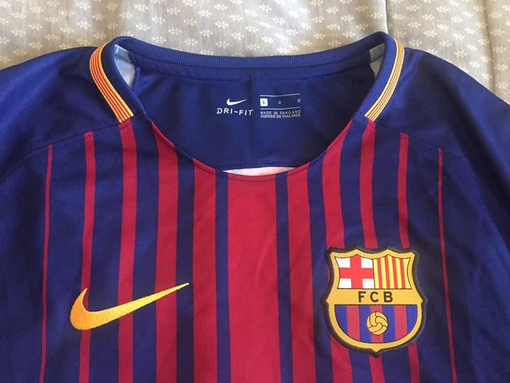Camiseta Nike Fc Barcelona Stadium Home Temporada 2017-2018 . 740c6072096
