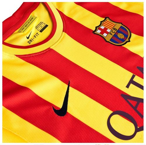 camiseta nike f.c. barcelona visitante jersey 2013/2014