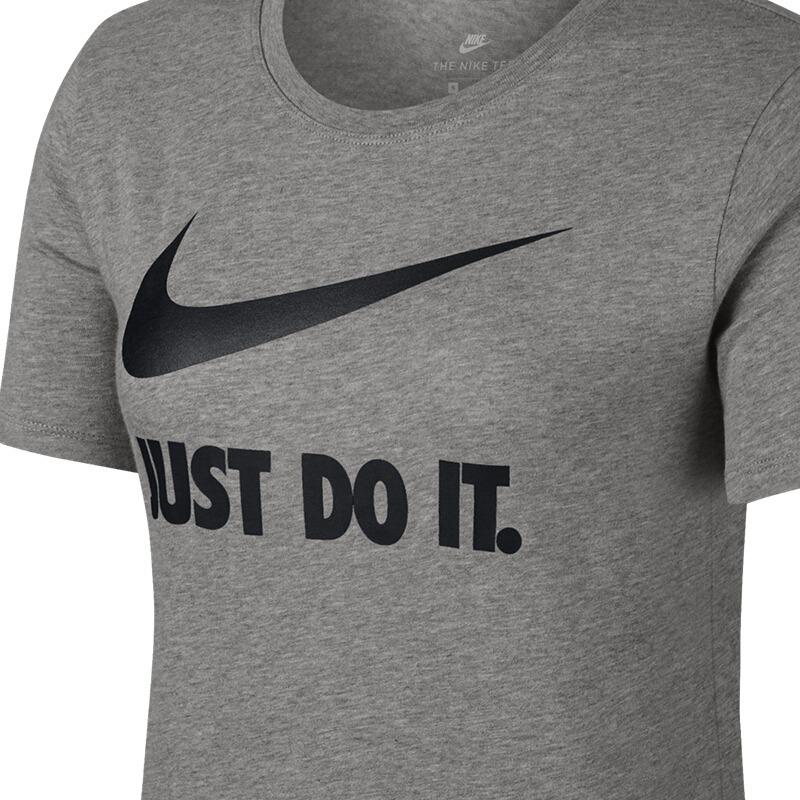 aedfc2a140771 camiseta nike feminina cinza blusa just do it - original. Carregando zoom.