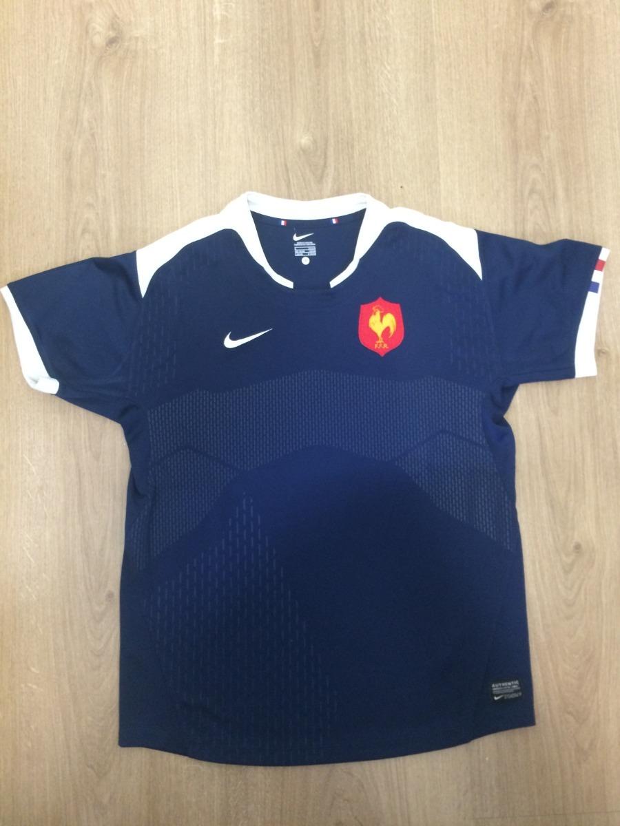 b3756a13ef camiseta nike frança seleção rugby masculino adulto p. Carregando zoom.