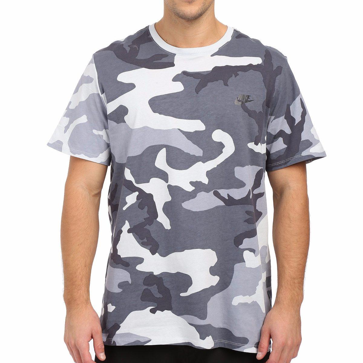 camiseta nike futura camo camuflado cinza original conceito. Carregando  zoom. a9b7d83df1bba
