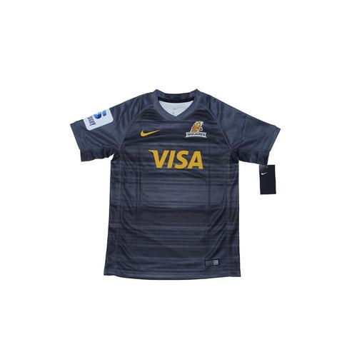 camiseta nike jaguares dry stadium oficial 2018  niños negra