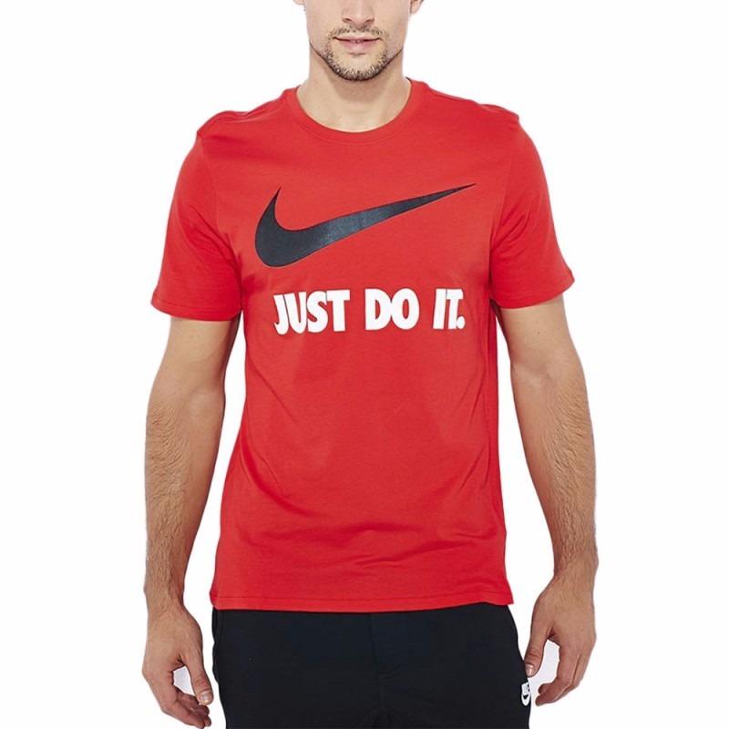 Camiseta Nike Jdi Swoosh Tee 707360-657 Roja Para Hombre -   129.900 ... 0e9a6bc9e73